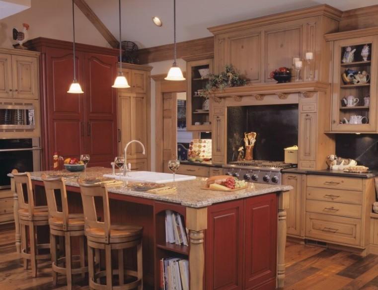 Cucine rustiche con isola ESCAPE='HTML'